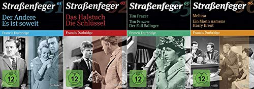 Straßenfeger 1+2+5+6 Francis Durbridge [DVD Set]