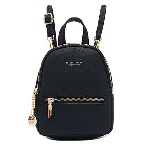 WILSLAT Women's Mini Backpack Purse Fashion Lightweight Leather Travel Small Shoulder Bag
