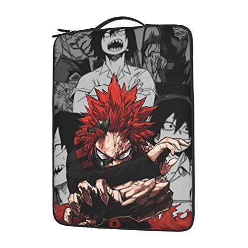 My Hero Academia Laptop Sleeve Case Bag Slim Lightweight Shockproof Pocket Case 15.6 Inch