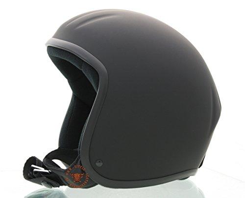 Skorpion CLASSIC TITAN 2-Kulthelm,geschlossene Helmschale Chopper,Ski,Harley,Scooter,Jethelm in schwarz-matt, Gr.: L