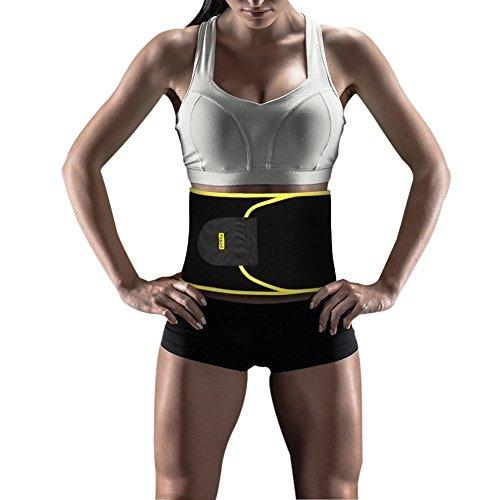 Cinturón Ajustable Fitness Faja adelgazante pérdida de peso cinturón para hombres y mujeres,…