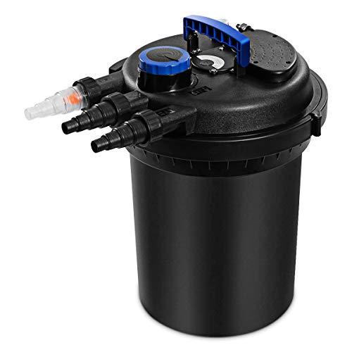 Goplus Pressure Bio Filter 10000L for Pond Koi Water 4000GAL