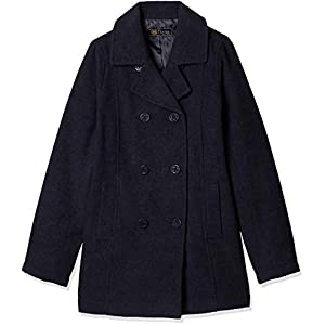 [キューポップ] ピーコート スクールコート(制服・学生服)(静電気防止機能) TB-1878 ガールズ ネイビー 日本 M (日本サイズM相当)