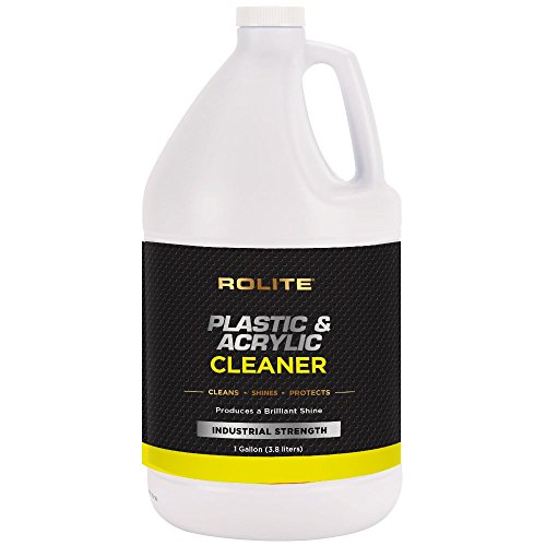 Plastic & Acrylic Cleaner (lon) for Motorcycle Windshields, Marine Eisenglass, Headlights, Retail Displays, 3D Printers & Hot Tubs/Spas
