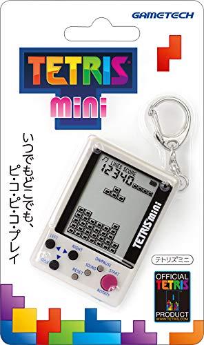 【テトリス社公式ライセンス製品】キーホルダー型携帯ゲーム機『テトリス( R )ミニ (グレー)』