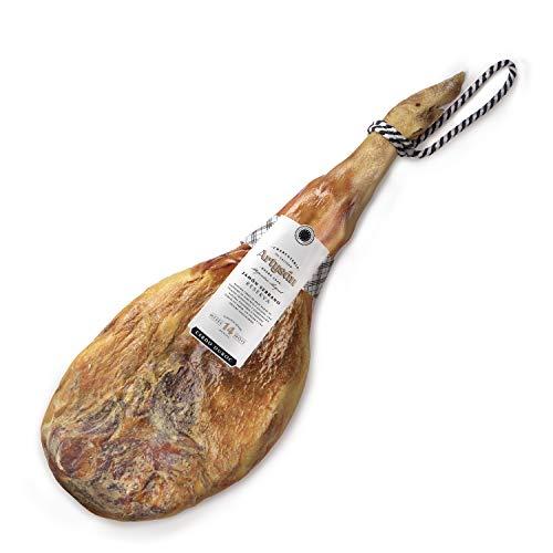 Artysan - Prosciutto Serrano Reserva Duroc | 7 kg circa | Prosciutto + Coltello + Porta Prosciutto |...