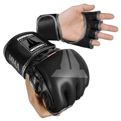 Throwdown Uni MMA Competition Fight Gloves, schwarz, M (Reg), 12-0237