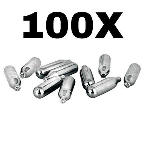 IBILI N2O Cargador Sifones De Nata 8g Caja 100Pcs X N2O IBILI Carga CAPSULAS Gas para Todas SIFON Nata