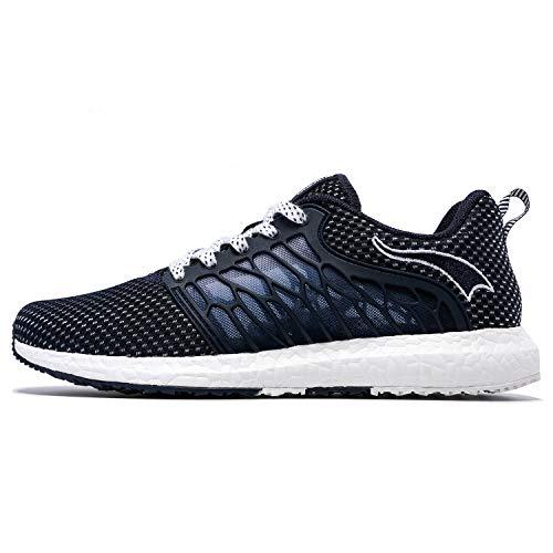 ONEMIX Mujer Zapatillas Deporte Running Aire Libre Respirable Zapatos para Correr Gimnasio Sneakers 1118 36EU