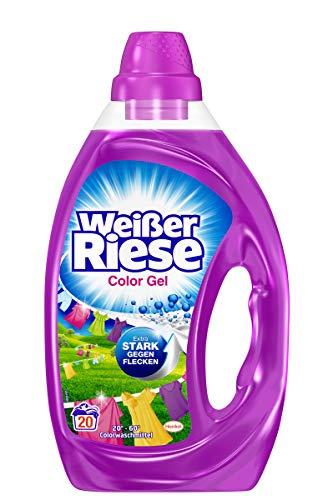 Weißer Riese Color Gel 20 Waschladungen 1 Liter