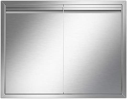 YITAHOME Outdoor Kitchen Doors 31 W x 24 H BBQ Access Door Brushed Double Wall Construction product image