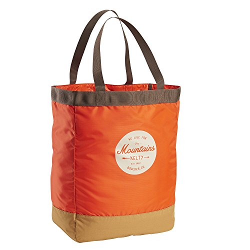 Kelty 8715547592766 Fourre-Tout Mixte Adulte, Fire Orange & Canyon Brown, 30 L