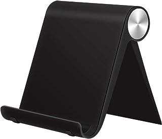 Mobile Phone Stand, Adjustable Desktop Phone Holder, Tablet Stand Phone Holder for iPad, Apple iPad Pro iPad Mini, iPad Ai...