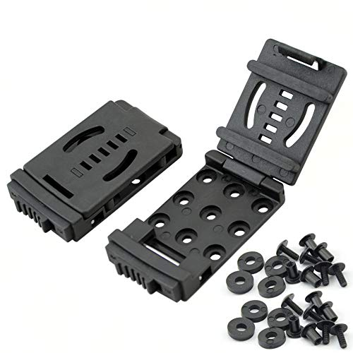 Belt Clip Outdoor Camping Knife Blade Lock with Screws, Set of 2