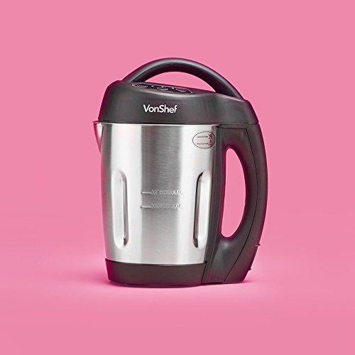 VonShef - Jug Soup Maker Machine with 1.6L Capacity