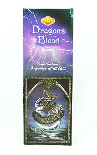 Incienso SAC Sangre de Dragon Dragons Blood - Set de 6 paquetes hexagonales