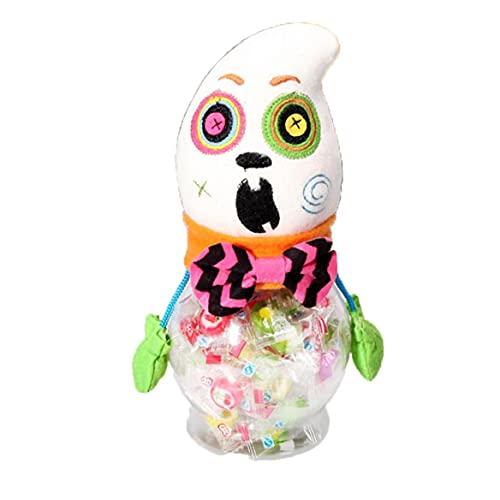 YepYes Schöne Dekorationen Halloween Keksdose Geschenke Trick or Treat Spielzeug-Puppe Süßigkeiten Storage Box Dekoration, Geisterhaus Zubehör