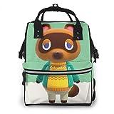 どうぶつの森 あつまれ どうぶつの森 Animal Crossing マザーズバッグ ママバッグ マザーズリュック レディースバッグ 大容量 多機能 軽量 手提げ ポケット付き 保冷 保温 オムツ 出産 入院 出産祝い
