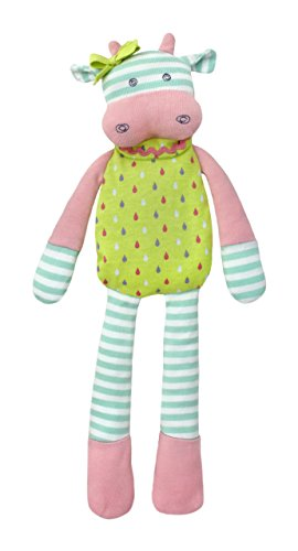 Organic Farm Buddies Plush Toy, Belle the Cow Color: Belle the Cow NewBorn, Kid, Child, Childern, Infant, Baby