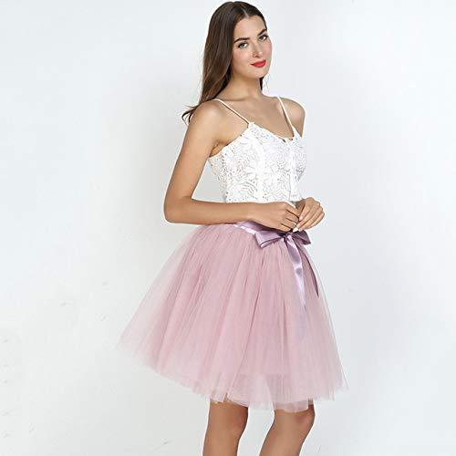 MIBKLPG Summer Lovely Fluffy Soft Tutu Skirt Faldas De Moda Faldas Plisadas