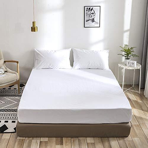 Decdeal Bedlaken polyester, waterdicht, matrashoes, stofmijtvast, matrasbeschermer, hypoallergeen, ademend laken