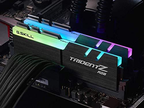 G Skill F4-3200C16D-16GTZR - Tarjeta de Memoria de 16 GB, Color Negro 4