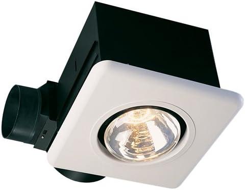 Ceiling Exhaust Fan Infrared Bulb Heater 70 CFM 2 250 Watt Bathroom Recessed New