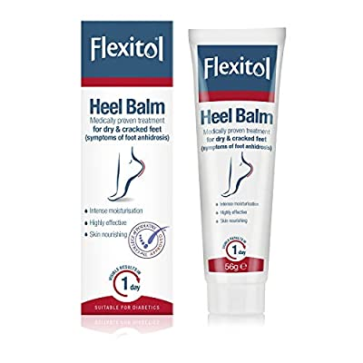 FLEXITOL Heel Balm Medically Proven Treatment for Dry and Cracked Feet - 56g  Gives Intense Moisturisation by M&A Pharmachem