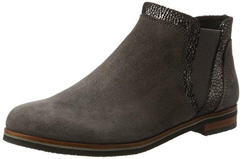 CAPRICE Damen 25304 Chelsea Boots, Grau (Anth.SUE.Multi), 36 EU
