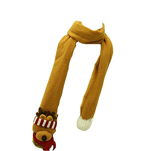 Forniture per le vacanze Accessori Moda Sciarpa Sciarpa Natalizia (1,6m * 10cm) (Color : Little Bear)