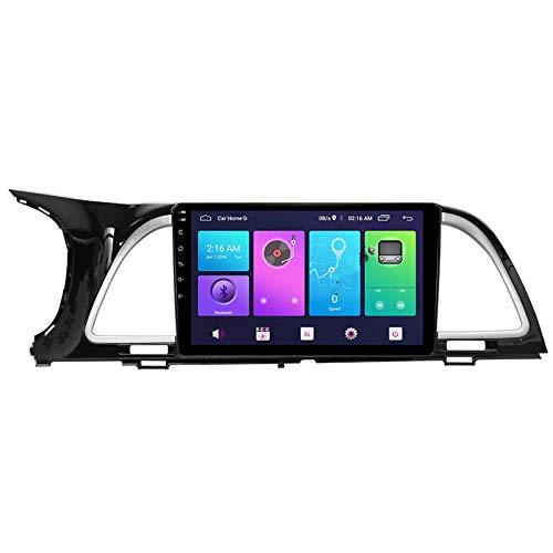 Nav Android 10.0 Car Stereo Double DIN para KIA K4 2017-2019 Navegación GPS Unidad Principal de 9 Pulgadas Reproductor Multimedia MP5 Receptor de Video y Radio con 4G WiFi DSP Carplay