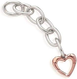 LE BEBE' Link Lock Your Love - Moschettone Cuore Oro Rosa