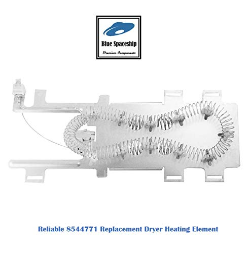 Reliable 8544771 Dryer Heating Element Replacement Part Fit for Whirlpool, KitchenAid, Roper, Maytag Dryers, Replace part No. : W10836011, WP8544771VP