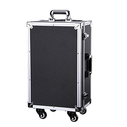 Outdoor Medicine opbergdoos met slot, metalen First Aid Box Toolbox koffer Multifunctionele opbergdoos Grote capaciteit - 35 * 25 * 54,5 cm