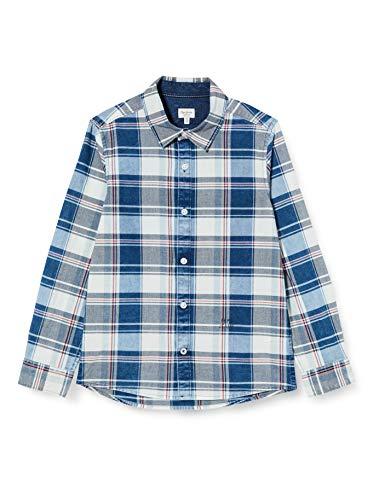 Pepe Jeans Jungen Hemd Justin, Mehrfarbig (Multi 0aa), 14-15 Jahre (Herstellergröße: 14)