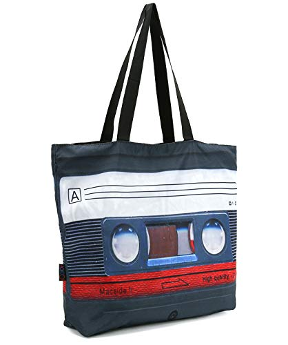 ICOLOR Magnetic Tape Gym Bag Shopping Tote Bags Shoulder Bag,Boys Girls Travel Beach Grocery Shoulder Bag with Zipper,Reusable Gym Picnic Work Daily Use Tote Bag(GymBag-16)