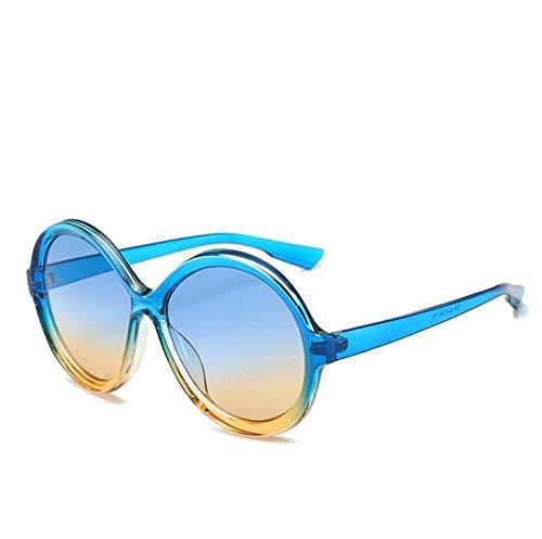 ZZZXX Gafas De Sol Redondas Hombre Gafas De Sol Redondas Correr, Andar En Bicicleta,Protección Uv400, Varios Colores Disponibles,Con Caja De Regalo Y Paño Para Vasos