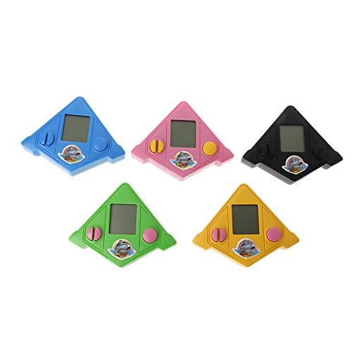 YOKING - Consola de juegos en ladrillo Tet-Ris, consola de juegos clásica nostálgica, juguetes educativos para niños