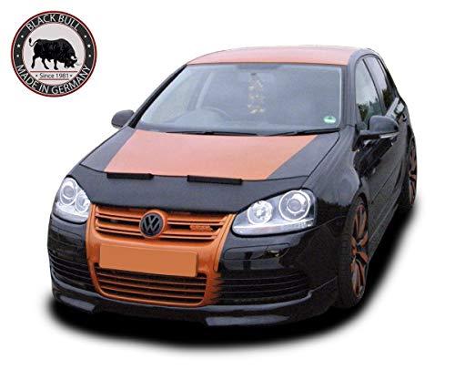 Steinschlagschutz Black Bull made in Germany kompatibel mit Golf 5 Tuning Haubenbra Automaske Car Bra Front Mask Cover NEU