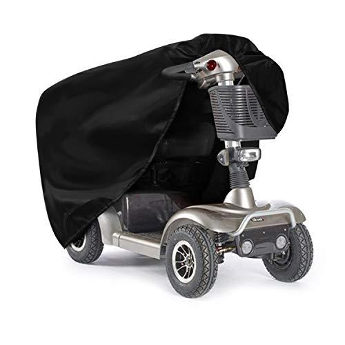 SIRUITON Scooter Schutzhaube Abdeckhaube für Elektroscooter Reißfeste Scootergarage -2 Jahre Garantie 140 x 66 x95cm