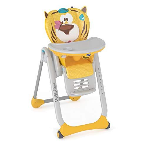 Chicco Polly 2 Star - Trona divertida y compacta, para niños de 0 a 3 años, colección 2017, diseño tigre