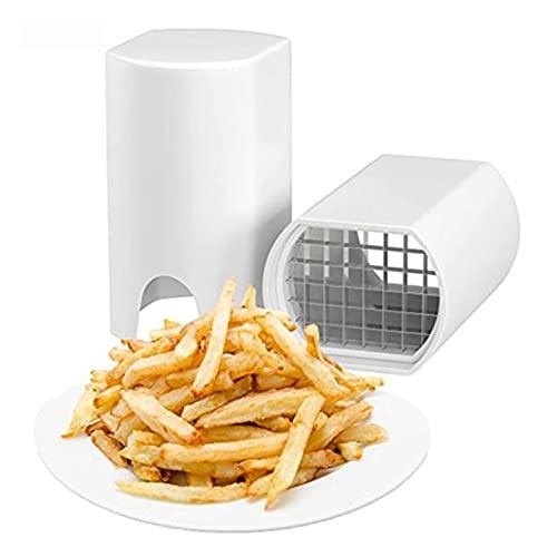 RRFZ Chips Maker Trituradora de Patatas Picadora de Patatas y Verduras Ideal para Patatas Fritas Rebanadoras de Manzana Patatas Fritas Waffle (Prensa de ajo)
