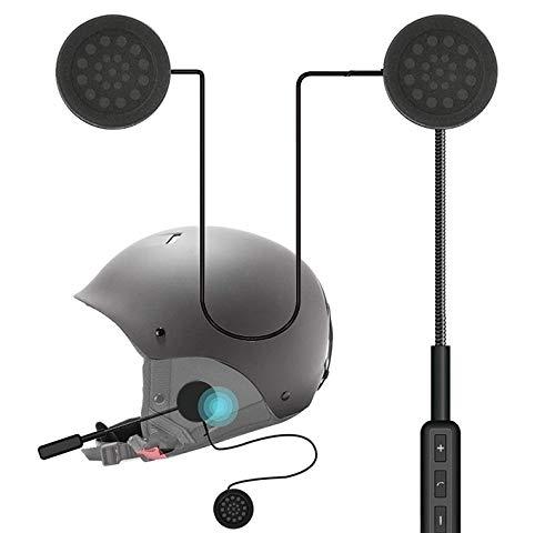 Meenu Arts Helmet Headset, Bluetooth Stereo Speakers Hands-Free Music Call Control Mic Earphone Durable