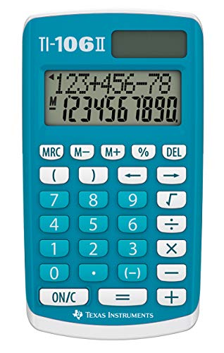Texas Instruments TI 106 S Calculatrice 4 opérations pour cl