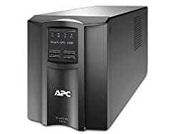 APC Smart-UPS 1000VA UPS Battery Backup with Pure Sine Wave Output (SMT1000)