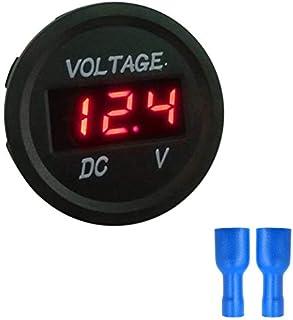 Exing DC 0-99,99 V Voltm/ètre num/érique 4 Chiffres 3 Panneaux