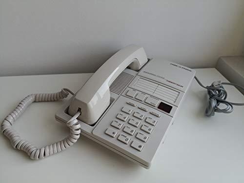 Code-A-Phone 1960 analoges Telefon und integriertem Anrufbeantworter mit Mikrokassette (weiß)