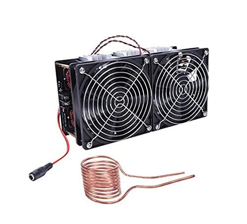 YEZIO Bricolaje Equipo, Calentador de inducción de Alta frecuencia ZVS, 2500W, máquina de Alta frecuencia, Apagado de Alta frecuencia, Horno de frecuencia intermedio (Size : 2500W)