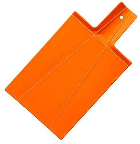 JOSKO Produkte Faltschneidebrett Orange Faltschneidbrett Kunststoff, 39.5x21.5x2 cm