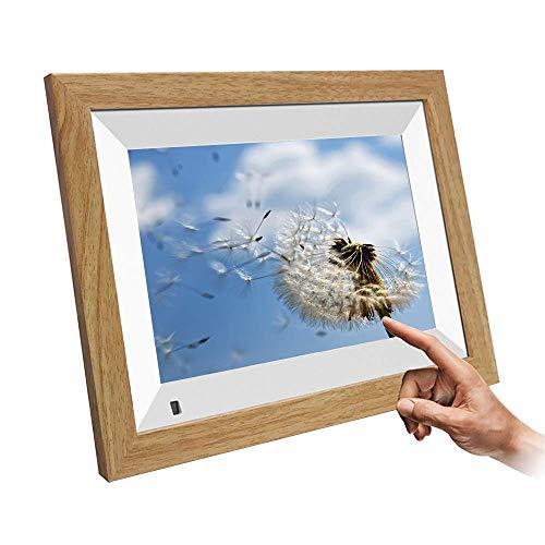 Marco de fotos digital de 10 pulgadas WiFi Álbum electrónico 800 veces; Pantalla IPS HD de resolución 1280, 16 GB de RAM, compartir fotos a través de la aplicación, correo electrónico decorar regalos